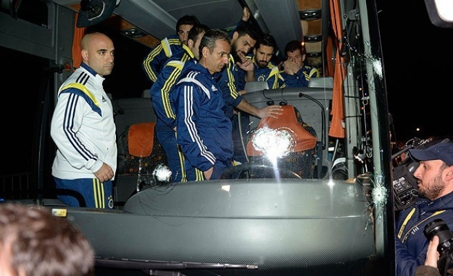 Armed attack against Turkish football team bus