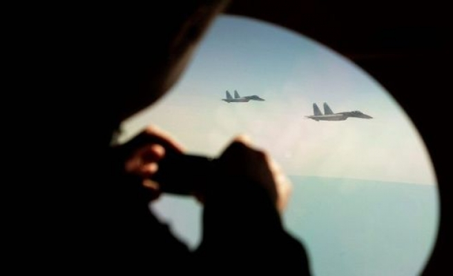 Russian fighter jet forced U.S. plane to change course