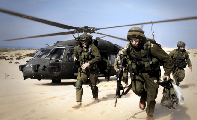Israel conducts military drills in W. Bank