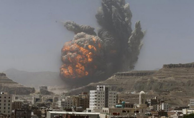 Air strike on missile base in Yemen capital