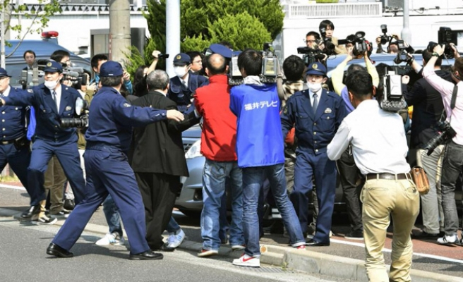 Japan protests as reporter blocked from covering China FM