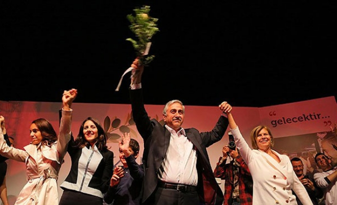 Akinci is the new Turkish Cypriot leader