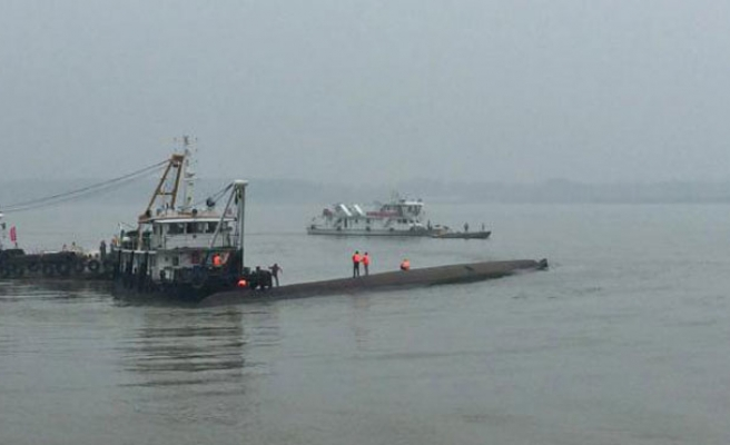 Chinese vessel caught illegally fishing