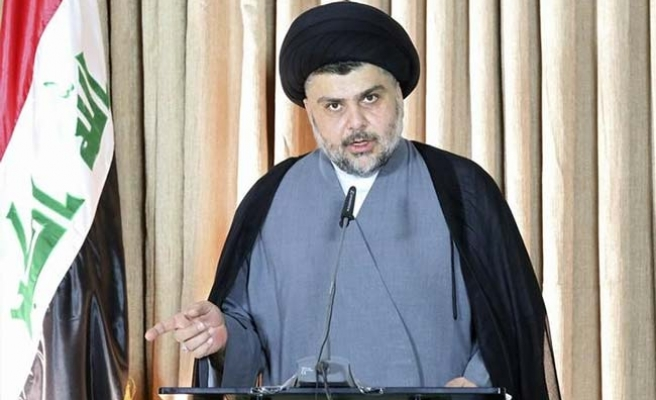 Iraq's Sadr holds one-man sit-in inside Green Zone
