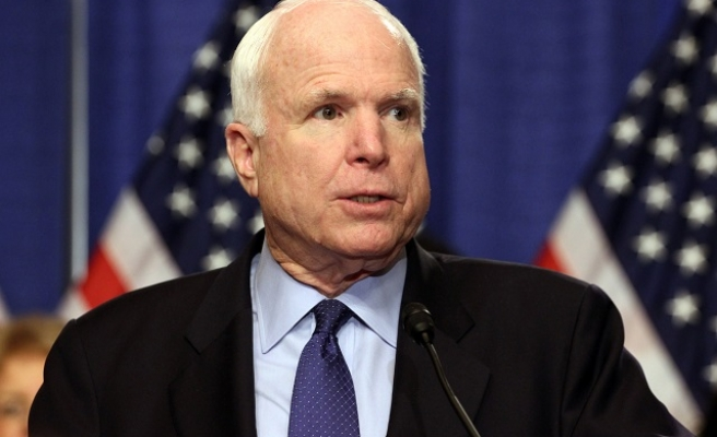 Senator McCain dead at 81 of brain cancer