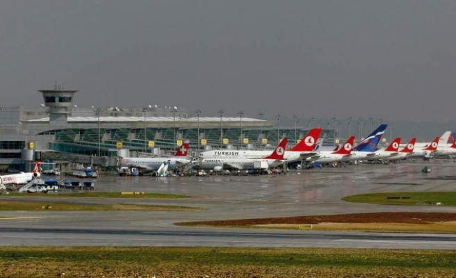 Turkish air passenger traffic up in November