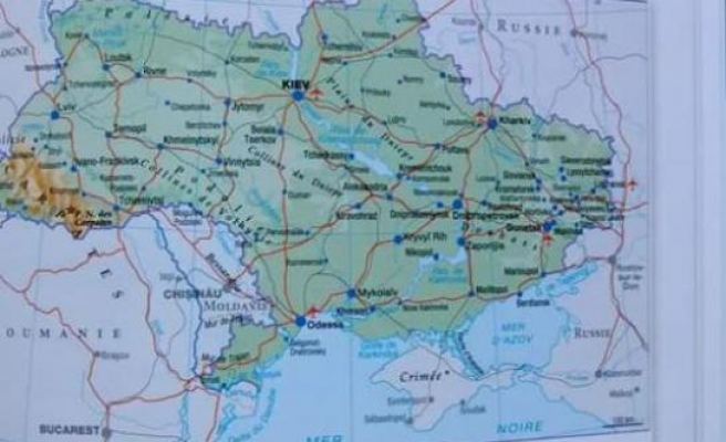 French atlas places Crimea in Russia