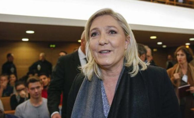 Le Pen leads far-right European rally in southern France
