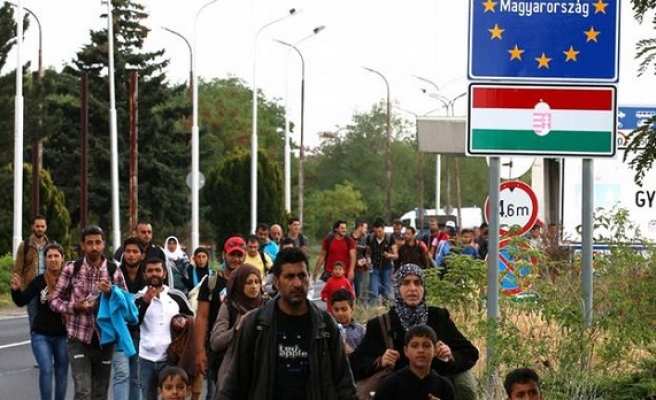Refugees in Europe not welcomed in Hungary