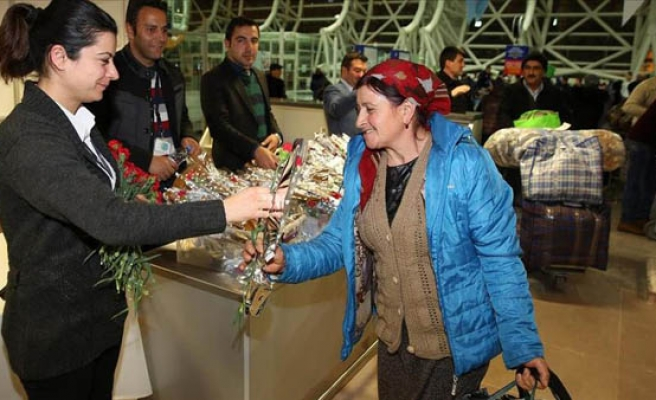Turkey welcomes Meskhetian Turks from east Ukraine