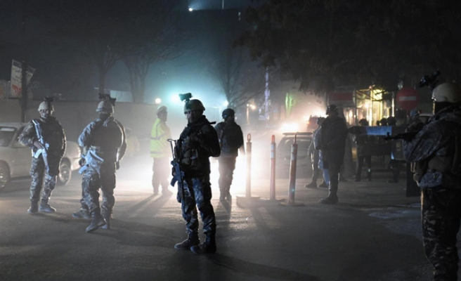 5 Afghan officers killed as Taliban storm police HQ