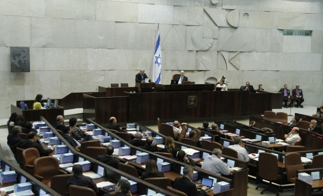 Israel parliament passes controversial 'strip-search' law
