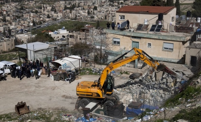 Israel demolishes another Palestinian home