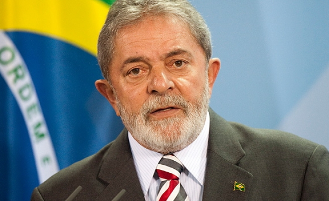 Brazil's Lula spends first day of 12-year prison sentence