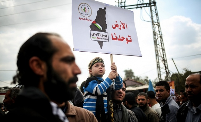 Palestinians commemorate 40th 'Land Day'