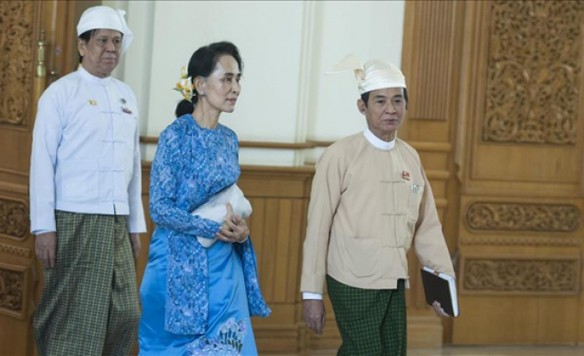 Suu Kyi elected to Myanmar gov't's highest ruling body