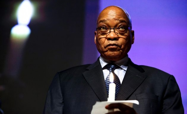 S.Africa's Zuma faces impeachment move in parliament