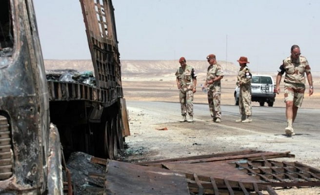 US considering moving Sinai troops