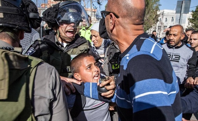 Israel police abuse detained Palestinian children