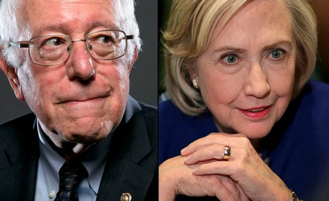 Clinton, Sanders clash in New York debate