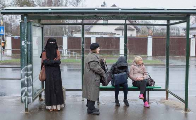 Latvia to ban niqab for three women!!