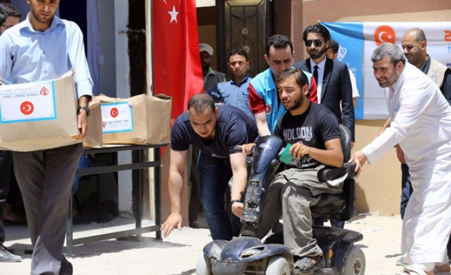 Second phase of Turkish aid distribution begins in Gaza