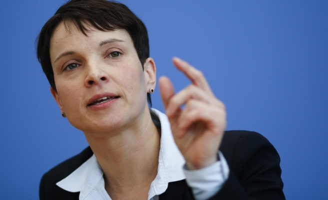 German far-right leader wants to send refugees to islands outside Europe