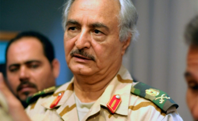 Libya strongman in UAE for talks on military 'cooperation'