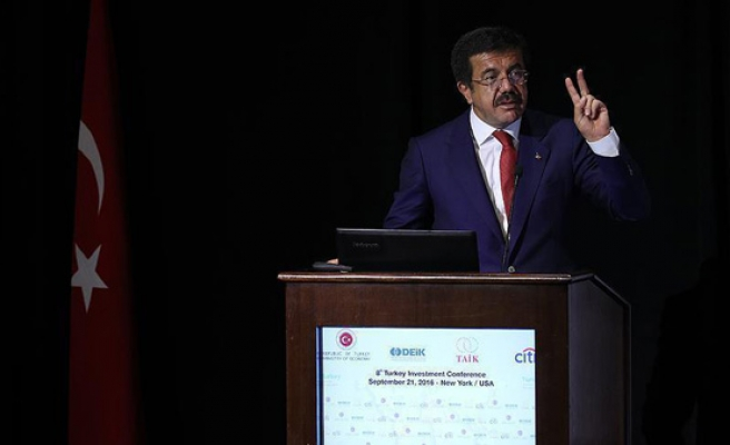 Turkey minister defines post-coup economy as 'miracle'