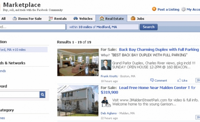 Facebook expands reach with buy-and-sell 'Marketplace'