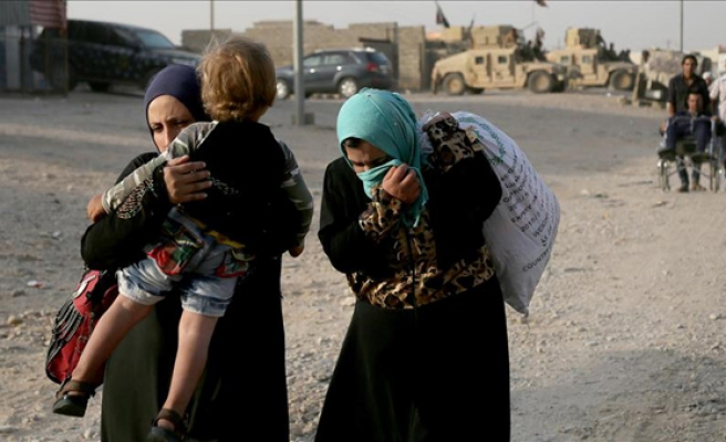 Over 100,000 Iraqis displaced since Mosul operation