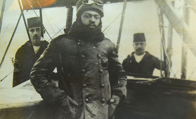 Ottoman Ahmet Ali Efendi, the worlds' first black pilot