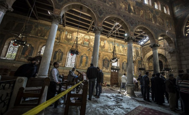 Church attack done by suicide bomber: Egypt's al-Sisi