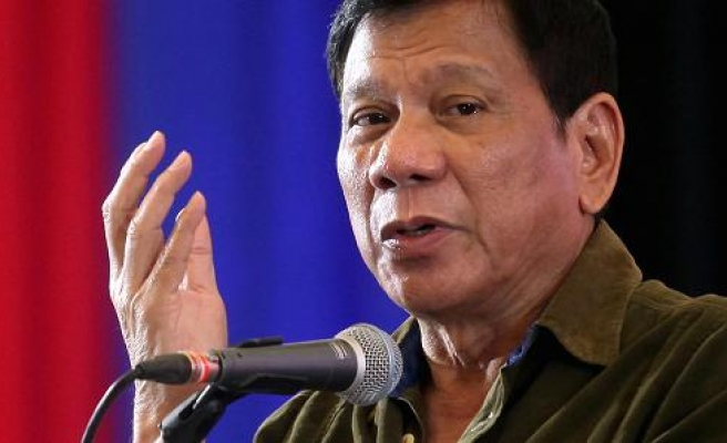Philippines' Duterte likens rights chief to paedophile