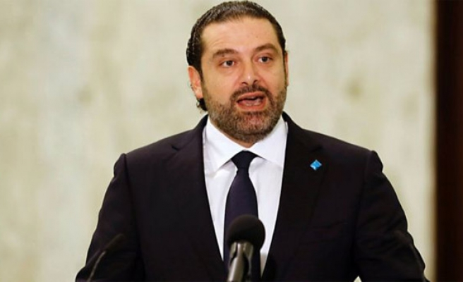 Lebanon runners race to show support for resigned PM