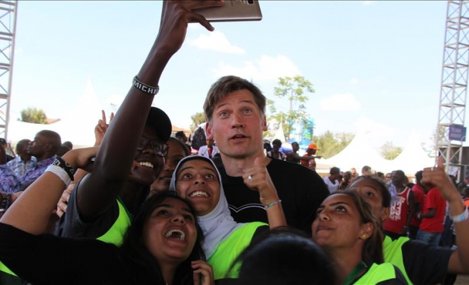 Game of Thrones' Kingslayer in Kenya to save the earth