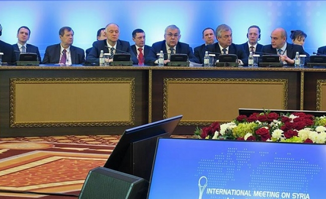 First day of Astana talks ends without result