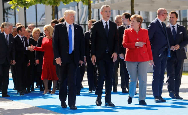Trump meets European allies: NATO's future at stake