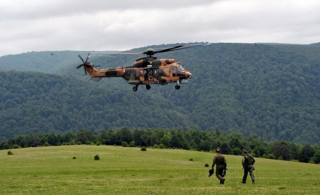13 martyred in military helicopter crash in Turkey