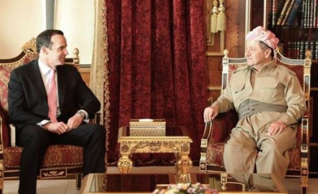 Northern Iraq leader meets US special envoy