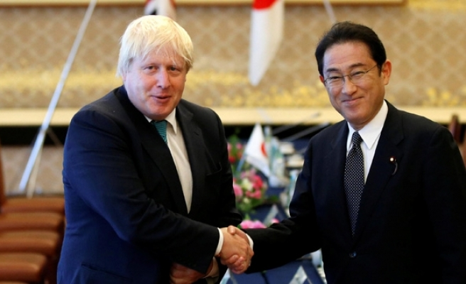 Britain's Johnson welcomes Japanese investment