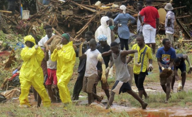 Sierra Leone floods: 500 deaths confirmed