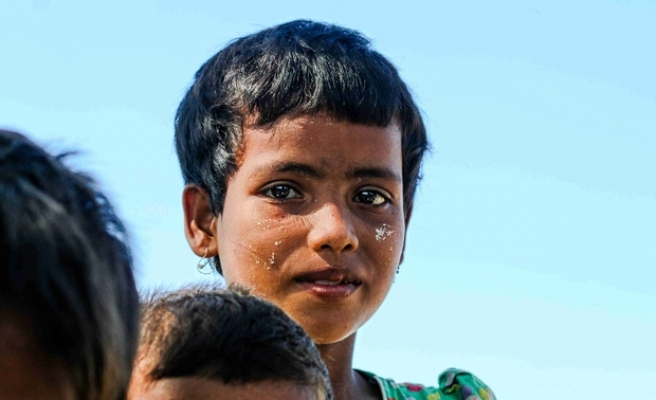 Rohingya plight through the eyes of the children