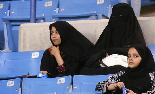 Saudi to allow women into stadium for national day