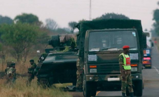 Zimbabwe army takes control of Harare, denies coup