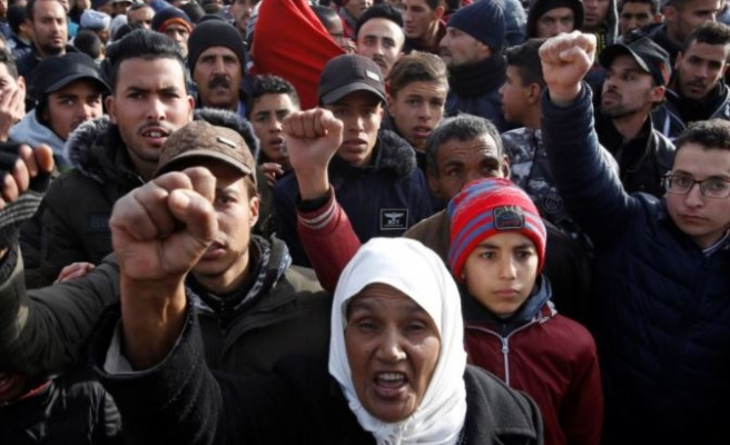 Street demonstrations resume in northeastern Morocco