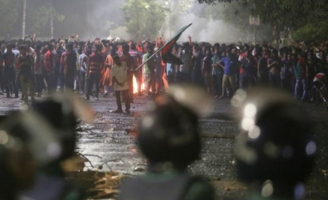 Student protests enter fifth day in Bangladesh