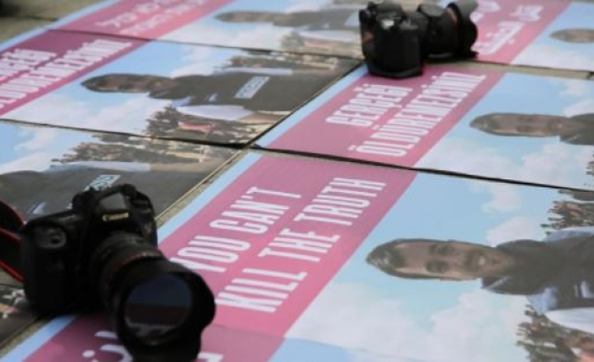 Killing of Palestinian journalist protested in Istanbul