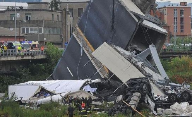 Death toll rises to 38 in Italy bridge collapse