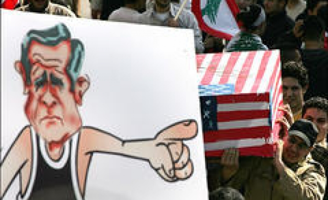 'Beirut is free, America out'